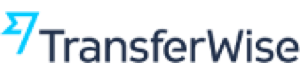 TransferWise logo which links to company review page