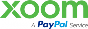 Xoom powered by Paypal Logo