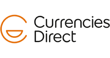 Currencies Direct  logo which links to company review page