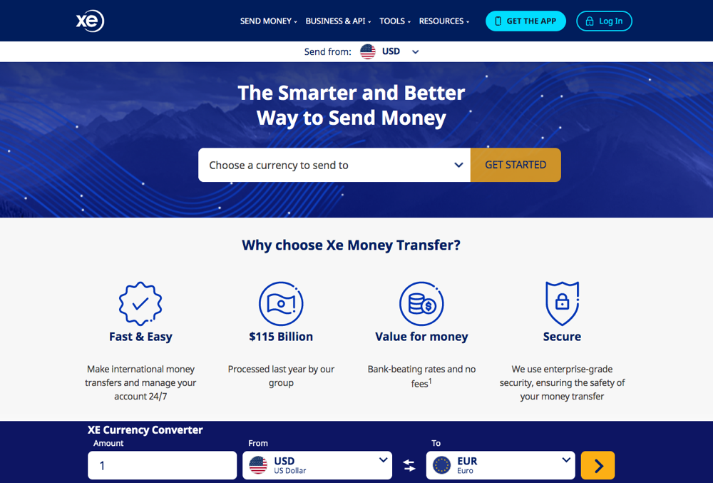 What is XE Money Transfer?