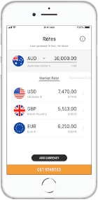 OFX Money Transfer App is great for international transfers